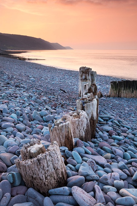 0086 Bossington Beach, Exmoor, Somerset
